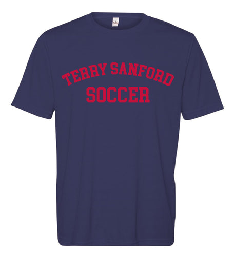 Terry Sanford DryFit Performance Tee - Navy - 5KounT