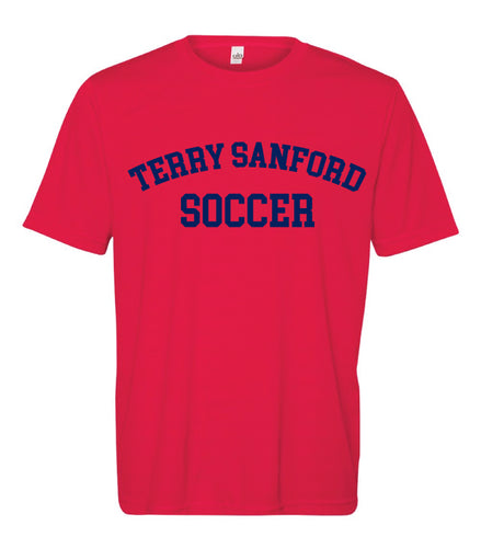 Terry Sanford DryFit Performance Tee - Sport Red - 5KounT