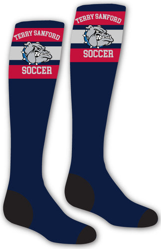 Terry Sanford Sublimated Knee High Socks - 5KounT