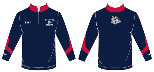 Terry Sanford Sublimated Quarter Zip - 5KounT