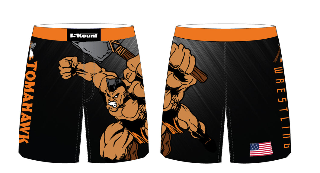 Tomahawk Wrestling Sublimated Fight Shorts - 5KounT