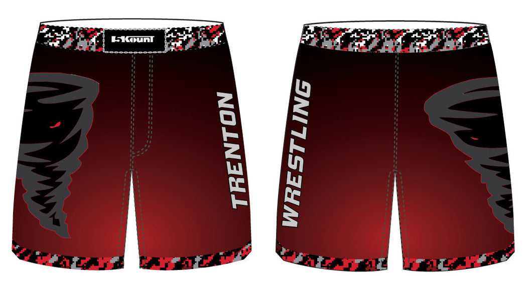 Trenton Wrestling Sublimated Fight Shorts - 5KounT