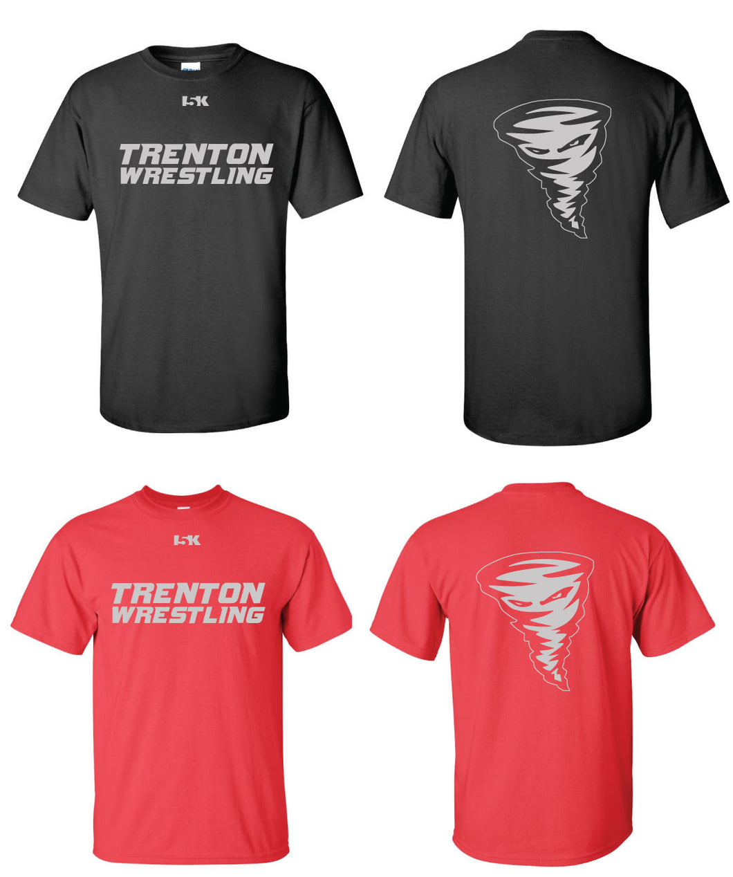 Trenton Wrestling Short Sleeve Tee - Cotton - 5KounT