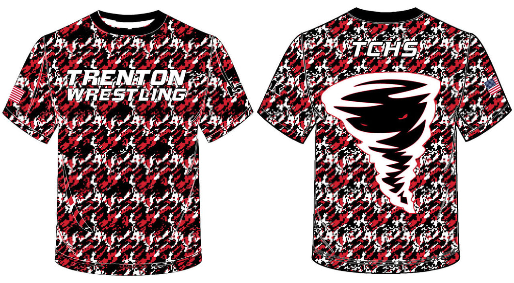 Trenton Wrestling Sublimated Camo Shirt - 5KounT2018