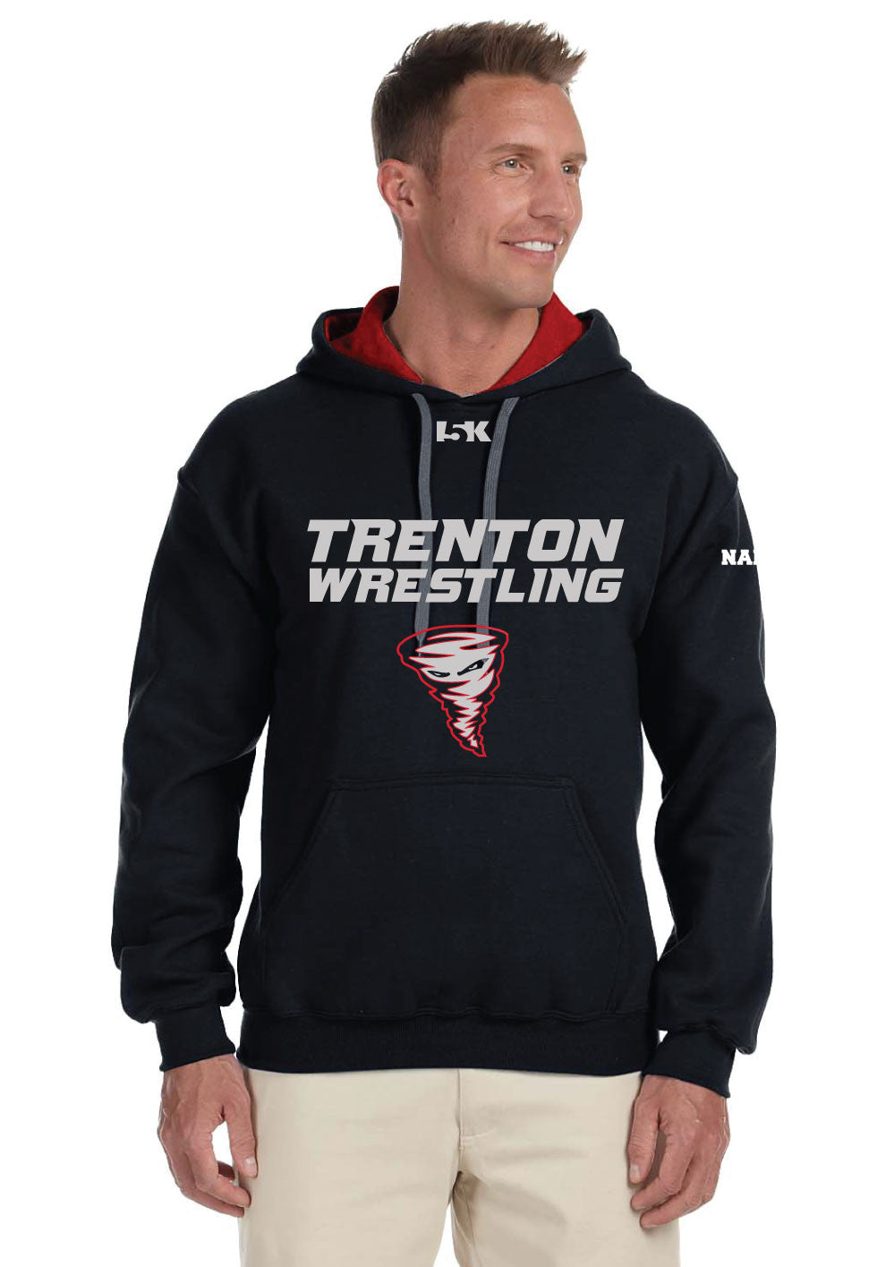 Trenton Wrestling Cotton Fleece Hoodie