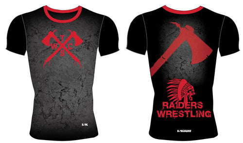 Tristate Wrestling Sublimated Compression Shirt - 5KounT2018