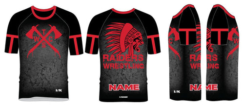 Tristate Wrestling Sublimated Fight Shirt - 5KounT2018