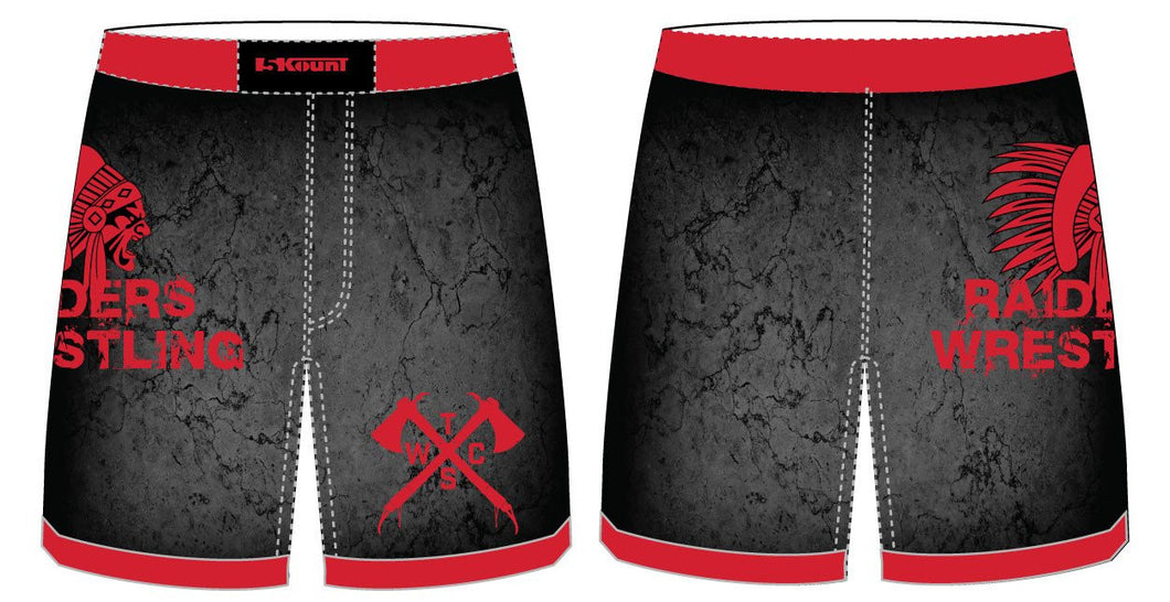 Tristate Wrestling Sublimated Fight Shorts