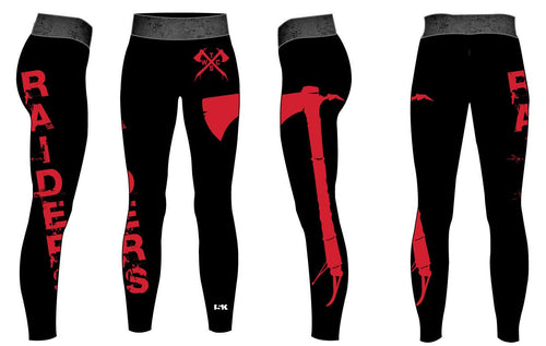 Tristate Wrestling Sublimated Ladies Legging - 5KounT2018