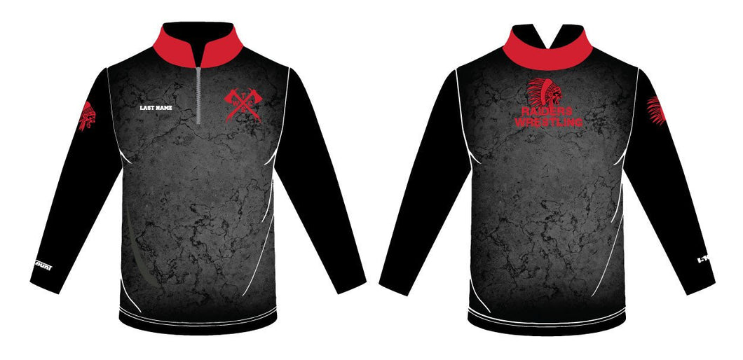 Tristate Wrestling Sublimated Quarter Zip - 5KounT