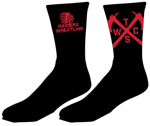Tristate Wrestling Sublimated Socks - 5KounT2018