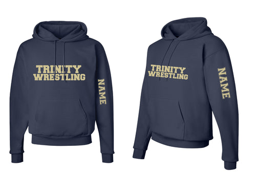 Trinity College Cotton Hoodie - Navy