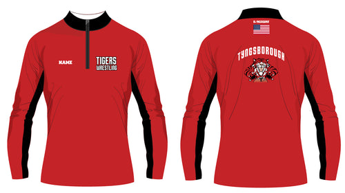 Tyngsborough Youth/Rec Team Wrestling Sublimated Quarter Zip