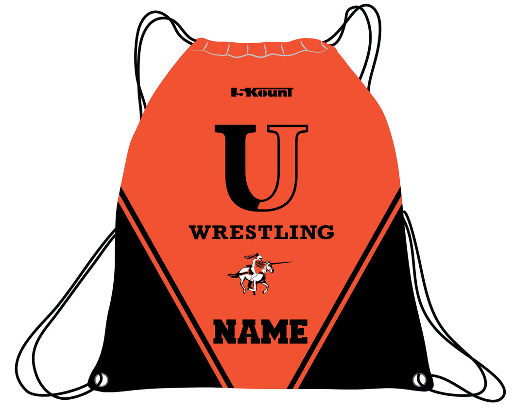 University of Jamestown Sublimated Drawstring Bag - 5KounT