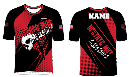 Upstate Mat Assassins Wrestling Sublimated Fight Shirt