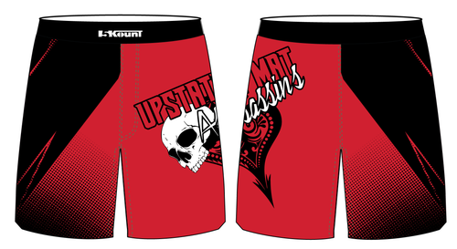 Upstate Mat Assassins Wrestling Sublimated Fight Shorts