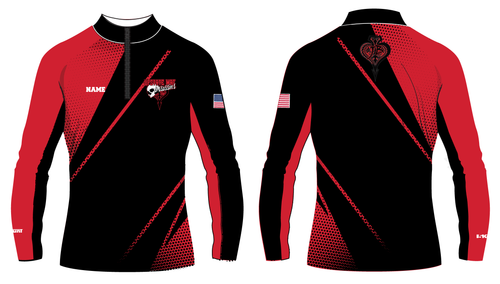 Upstate Mat Assassins Wrestling Sublimated Quarter Zip