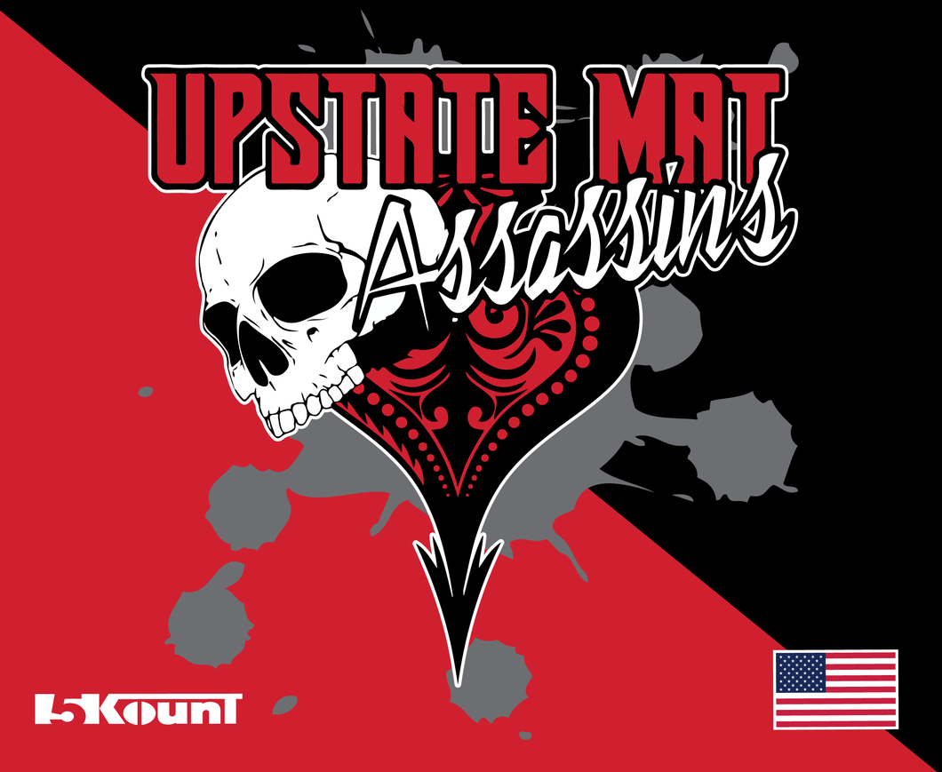 Upstate Mat Assassins Sublimated Mousepad