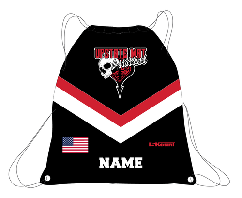 Upstate Mat Assassins Wrestling Sublimated Drawstring Bag
