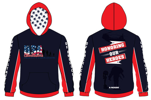 USA Cheerleaders Sublimated Hoodie