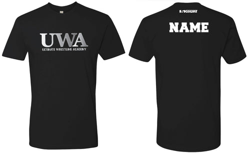 UWA Cotton Crew Tee - Black - 5KounT2018