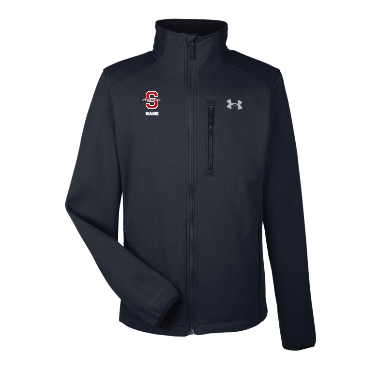 Scarlet Aquatics Under Armour Men's Granite Jacket - Black