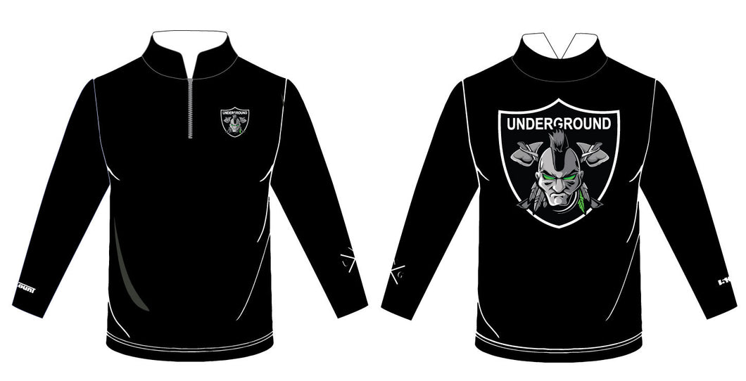 Underground 2017 Sublimated Quarter Zip - 5KounT