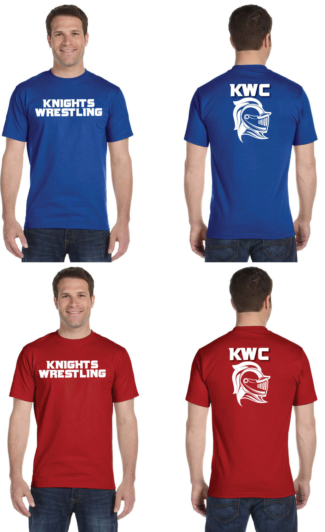 Union Knights Wrestling Cotton Tee