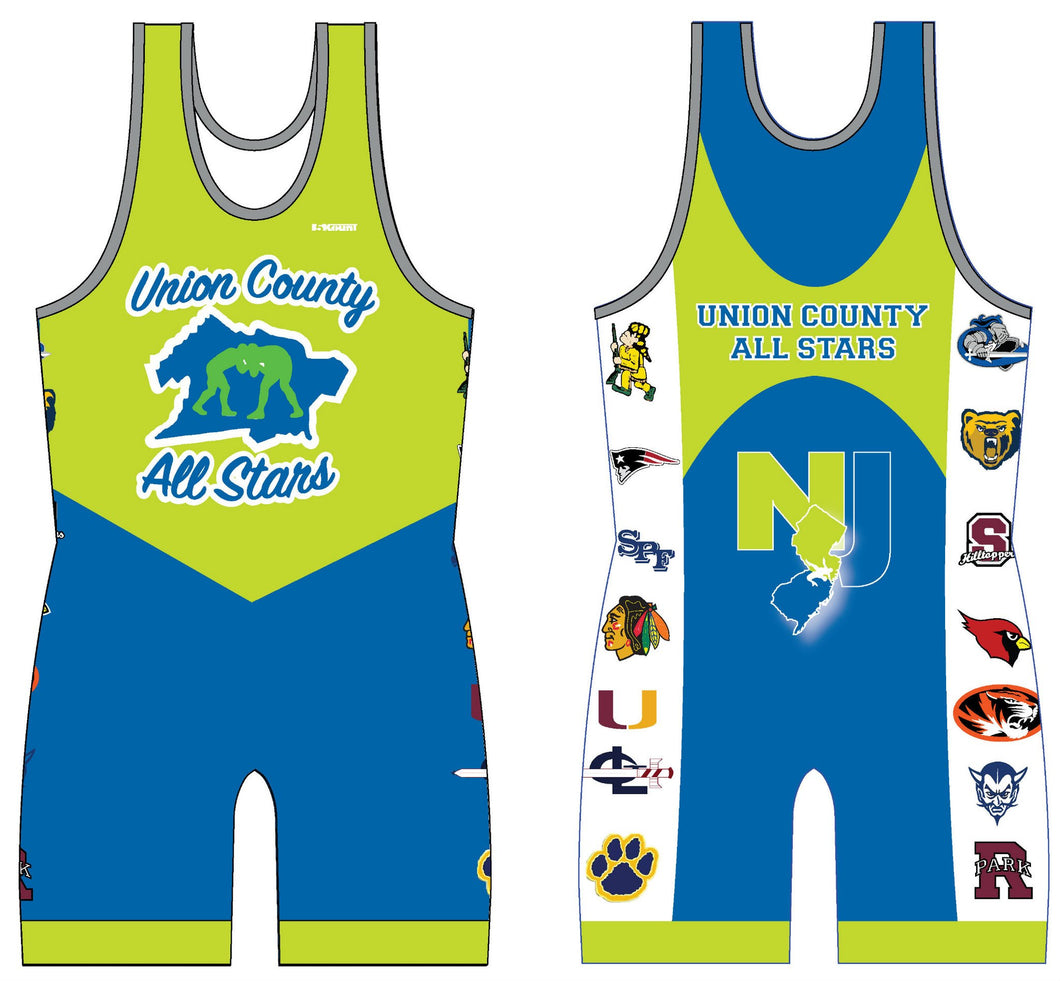 UCAS 2015 Sublimated Singlet