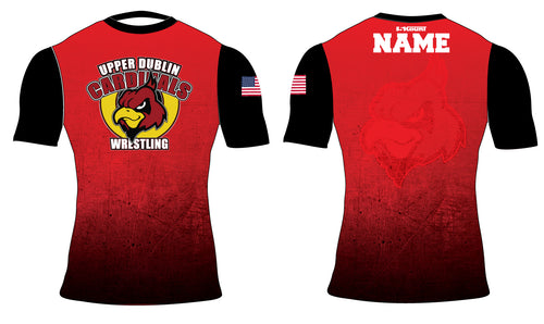Upper Dublin Wrestling  Sublimated Compression Shirt - 5KounT2018