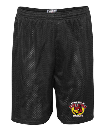 Upper Dublin Wrestling  Tech Shorts - Black - 5KounT2018