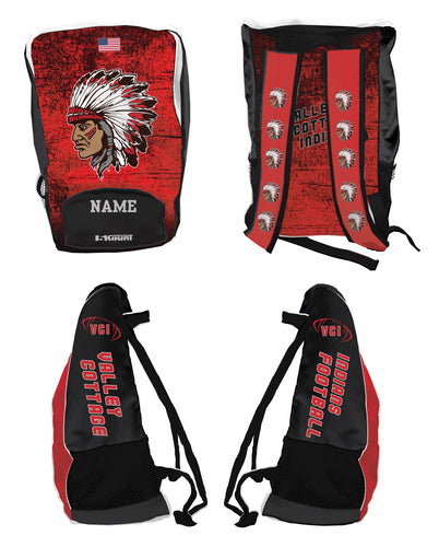 VCI Youth Football Sublimated Backpack - 5KounT2018