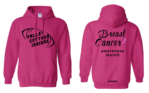 VCI Youth Football Cotton Hoodie Cancer Awareness