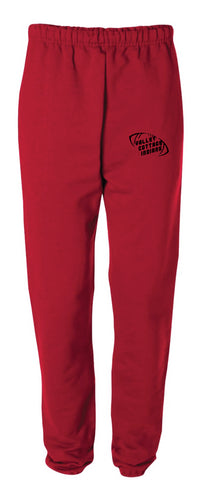 VCI Youth Football Cotton Sweatpants - Red - 5KounT2018