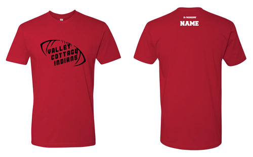 VCI Youth Football Cotton Crew Tee - Red