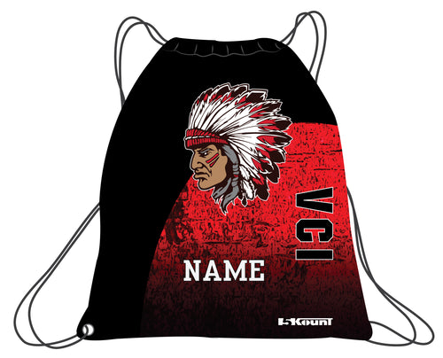 VCI Youth Football Sublimated Drawstring Bag