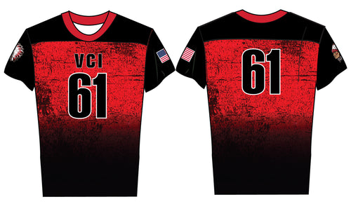 VCI Youth Flag Football Sublimated Jersey - 5KounT2018