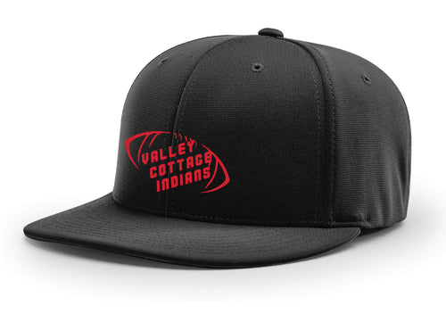 VCI Youth Football Flexfit Cap - Black/Red