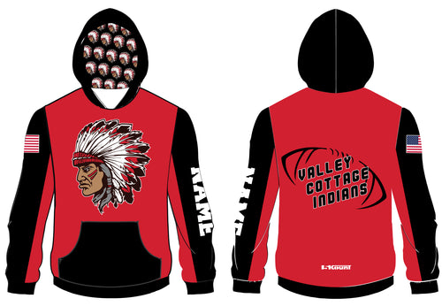 VCI Youth Football Sublimated Hoodie