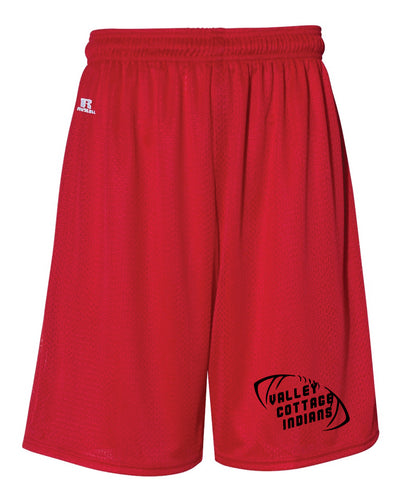 VCI Youth Football Red Russell Athletic Tech Shorts - Red