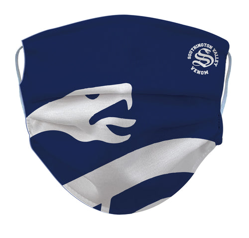 Southington Venom Reusable Face Mask - 5KounT2018