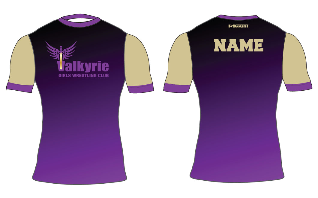 Valkyrie Girls Wrestling Sublimated Compression Shirt