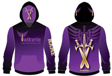 Valkyrie Girls Wrestling Sublimated Hoodie