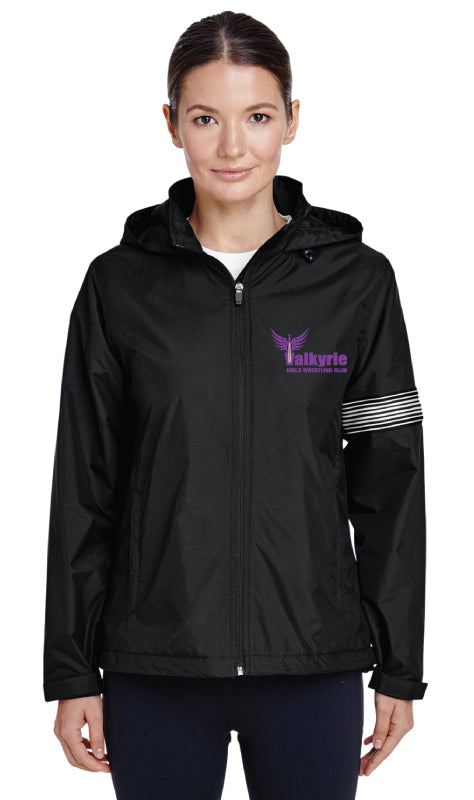 Valkyrie Girls Wrestling All Season Hooded Jacket - Black - 5KounT2018