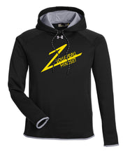 Volleyball Under Armour Men's Double Threat Armour  Fleece Hoodie - Black