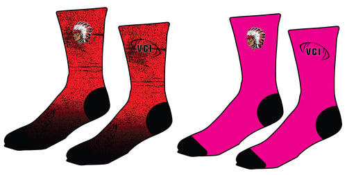 VCI Youth Football Sublimated Socks - 5KounT2018