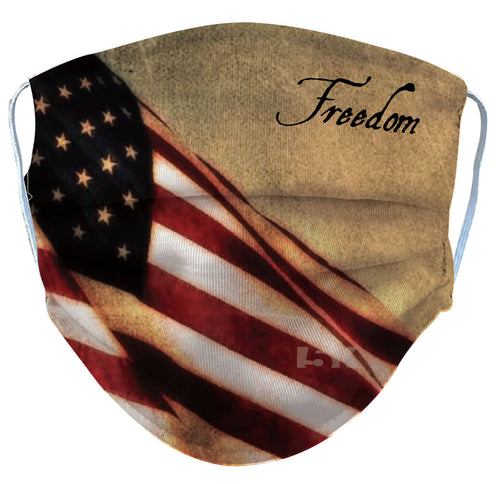 Freedom US Flag Reusable Face Mask