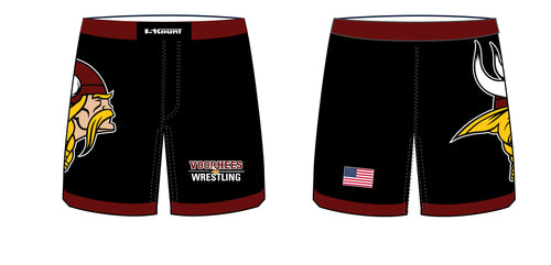 Voorhees Wrestling Sublimated Fight Shorts - 5KounT2018