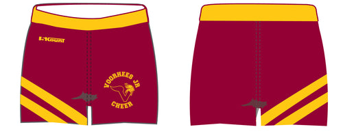 Voorhees Jr Cheer Sublimated Dance Shorts - 5KounT2018
