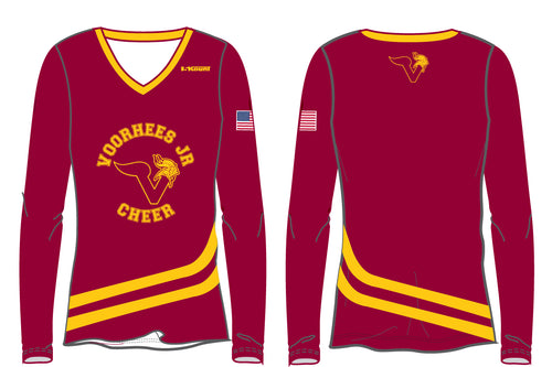 Voorhees Jr Cheer  Sublimated Long Sleeve Shirt - 5KounT2018